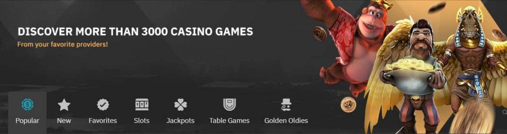 arcanebet casino banner