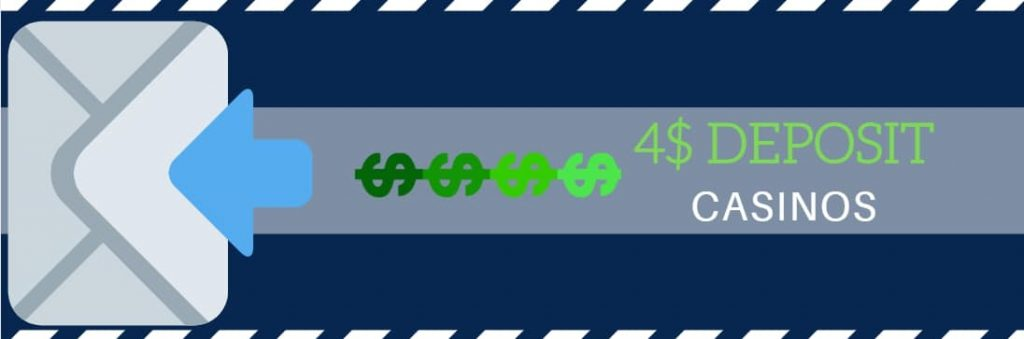$4 deposit casino