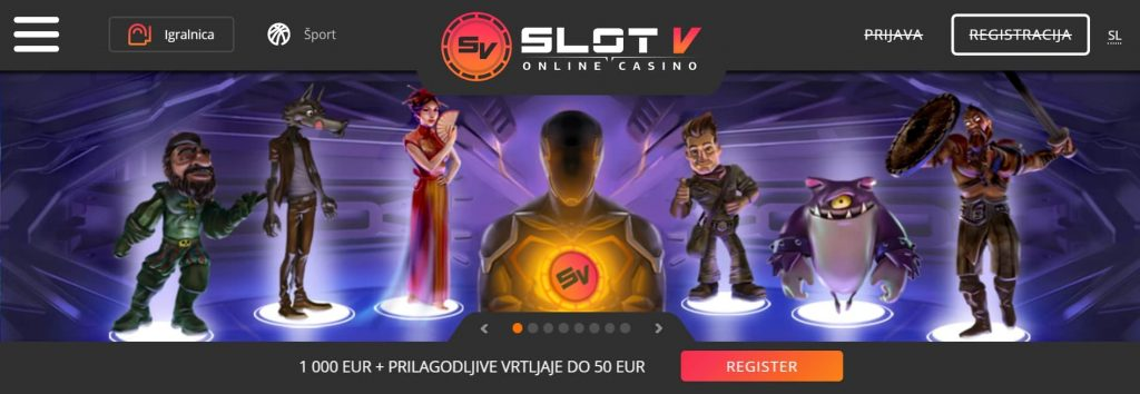 SlotV Casino Slovenscina
