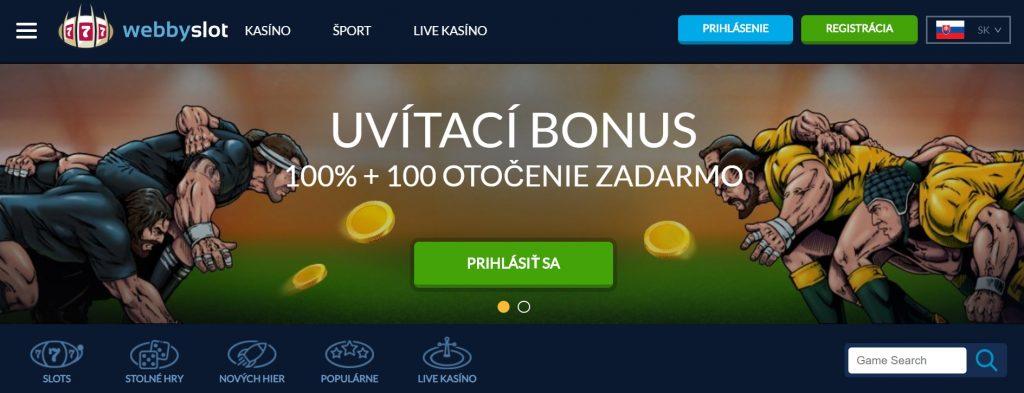Webby Slot Kasino online