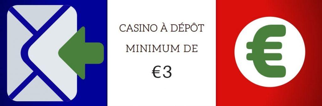 casino à dépôt de 3 €