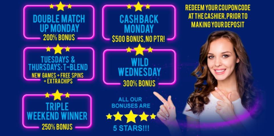 20 pounds casino bonuses