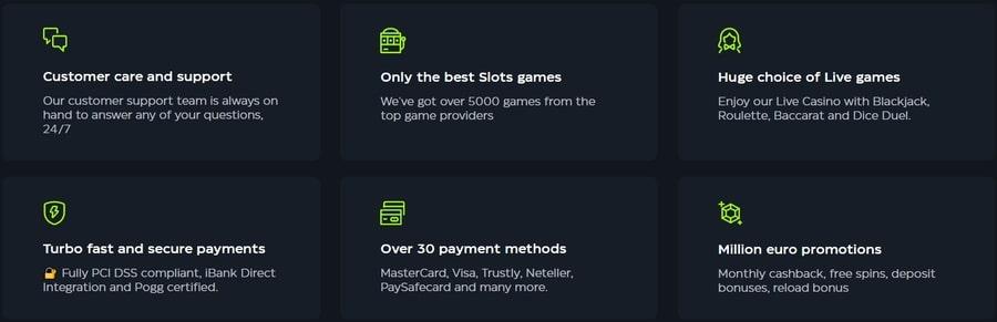 reviews for GSlot casino