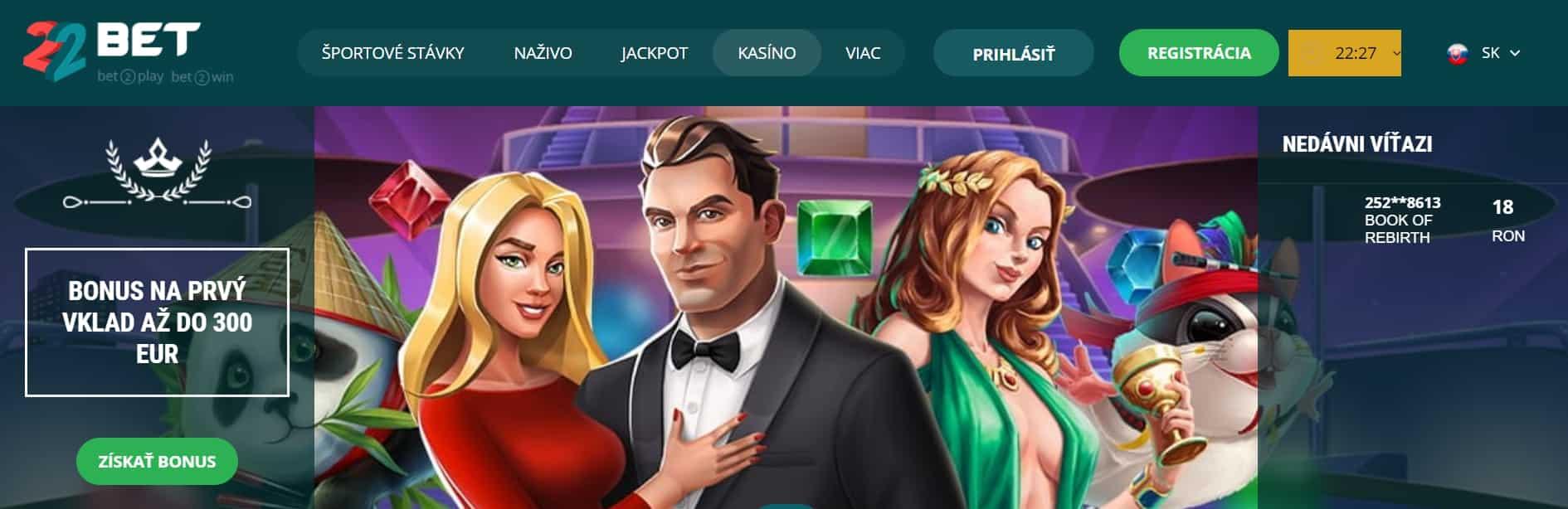 online kasino na Slovensku