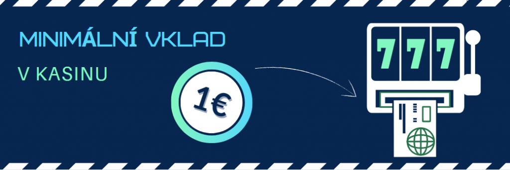 Online casino vklad 1 euro